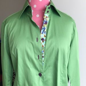 'Robert Graham' like well tailored dress shirt NEW